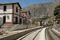 El Chorro train station