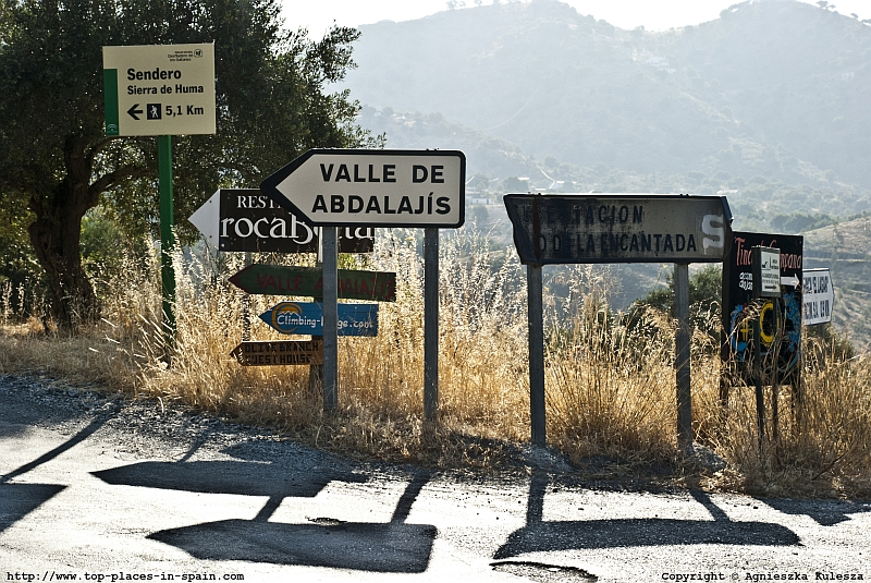Signs in El Chorro photo