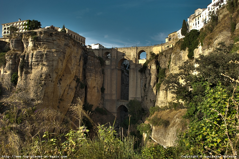 Ronda - the Puente Nuevo bridge photo